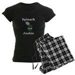Spinach Junkie Women's Dark Pajamas