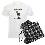 Spinach Junkie Men's Light Pajamas