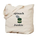 Spinach Junkie Tote Bag