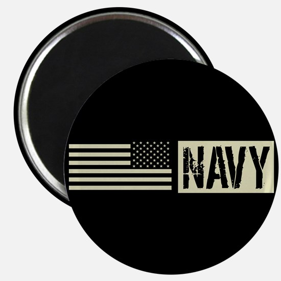 "U.S. Navy: Navy (Black Flag 2.25"" Magnet (10 pack)"