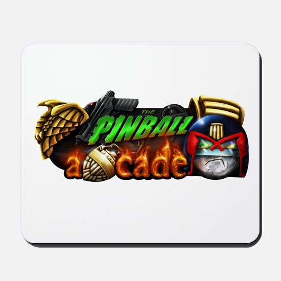 Pinball Arcade Justice Mousepad