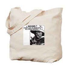 No Steeking Badges Tote Bag