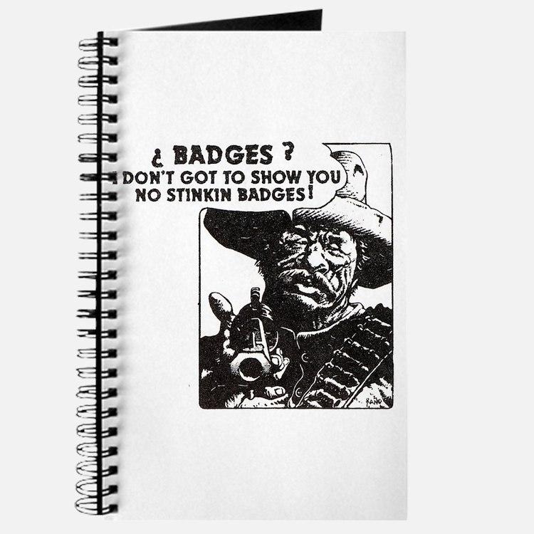 No Steeking Badges Journal
