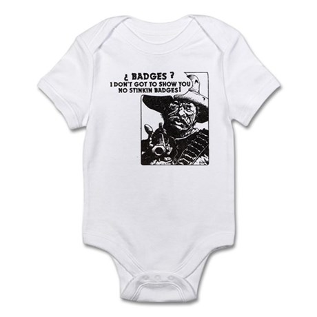 No Steeking Badges Infant Bodysuit
