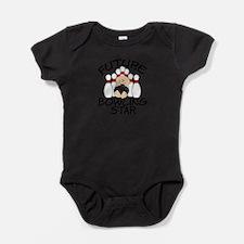 Unique Bowling kid Baby Bodysuit