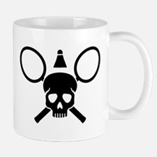 Badminton skull Mug