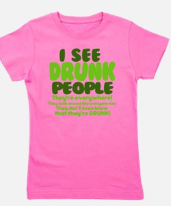 Unique St. pats day Girl's Tee