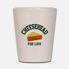 Cute Green bay Shot Glass