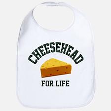 Cheesehead for LIFE! Bib