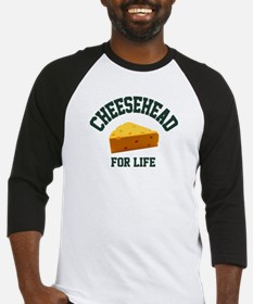 Cheesehead for LIFE! Baseball Jersey
