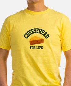 Cheesehead for LIFE! T-Shirt