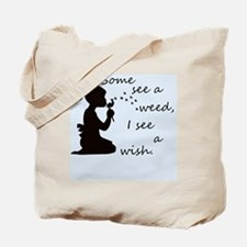Cool Dandelion wishes Tote Bag