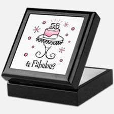 Fabulous 55 Keepsake Box