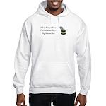 Christmas Spinach Hooded Sweatshirt