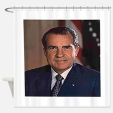 President Nixon Shower Curtain