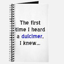 first dulcimer Journal