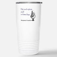 Cute Ben franklin Travel Mug