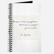 Mr. Knightley/Emma Quote Journal