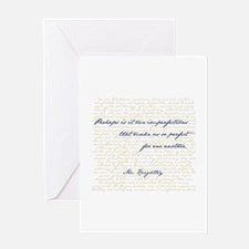 Mr. Knightley/Emma Quote Greeting Cards