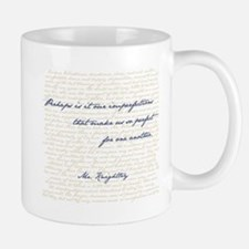 Mr. Knightley/Emma Quote Mugs