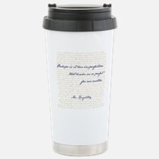Mr. Knightley/Emma Quot Stainless Steel Travel Mug