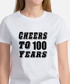 Cheers To 100 Tee