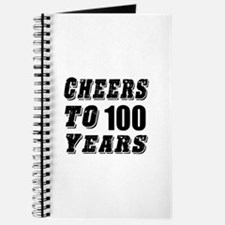 Cheers To 100 Journal