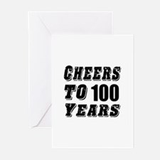 Cheers To 100 Greeting Cards (Pk of 10)