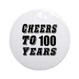 100th birthday Ornaments