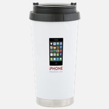 iPhone Therefore I Am Travel Mug
