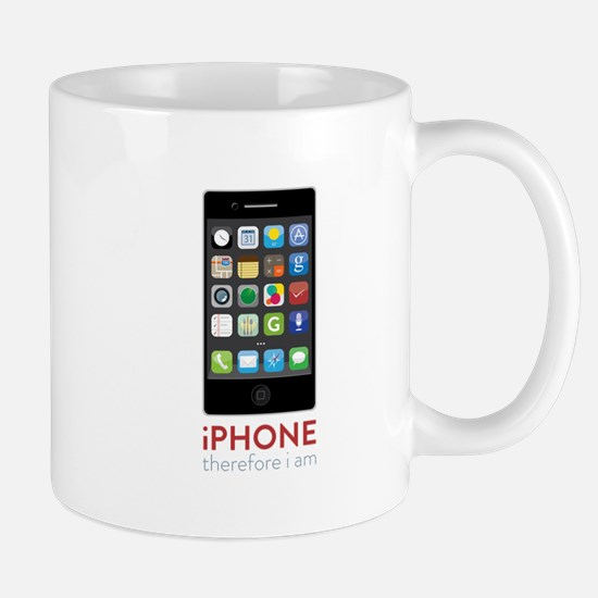 iPhone Therefore I Am Mugs