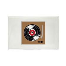 Vinyl Record Player Magnets
