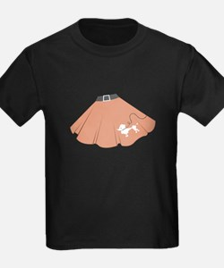 Poodle Skirt T-Shirt