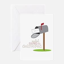 Sealed Signed & Delivered Greeting Cards