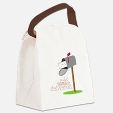 Sealed Signed & Delivered Canvas Lunch Bag