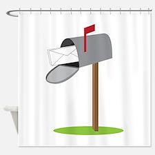 Mailbox & Letter Shower Curtain
