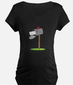 Mailbox & Letter Maternity T-Shirt