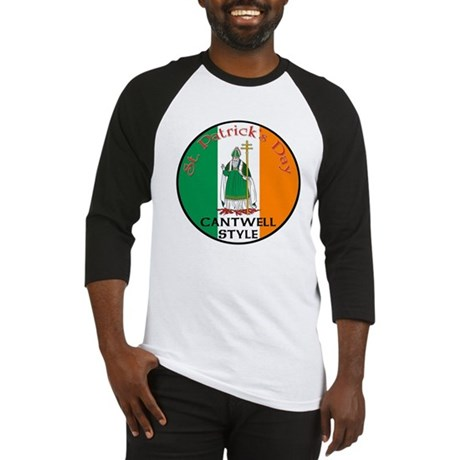 Cantwell, St. Patrick's Day Baseball Jersey