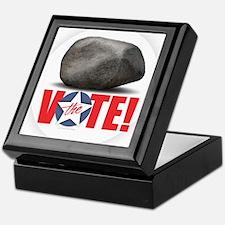 Rock the Vote! Keepsake Box