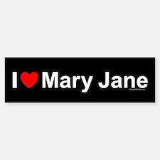 Mary Jane Bumper Bumper Sticker