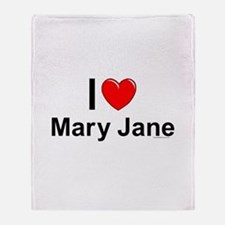 Mary Jane Throw Blanket