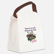 Yarn Balls Canvas Lunch Bag