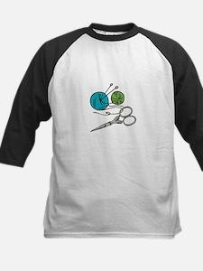 Yarn & Scissors Baseball Jersey