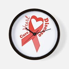 Heart Disease Wall Clock