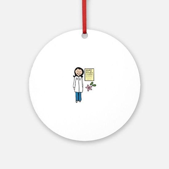 Female Doctor Round Ornament