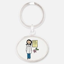 Female Doctor Keychains