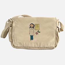 Female Doctor Messenger Bag