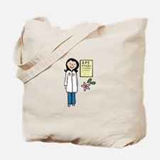 Female Doctor Tote Bag