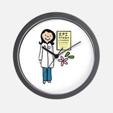 Female Doctor Wall Clock