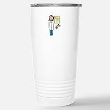 Female Doctor Travel Mug